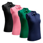 CGKSA0A4 Callaway Ladies Swingtech Sleeveless Polo Shirt