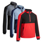 CGRF90D4 Callaway Block 1/4 Zip Wind Jacket