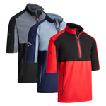 CGRF90D5 Callaway 1/2 Sleeve Block Wind Jacket