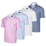 KX404 Greg Norman Fine Print Polo Shirt